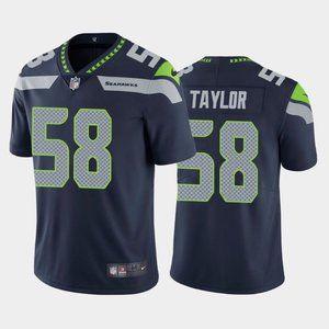 Seahawks Darrell Taylor Navy Jersey